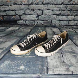 converse black & white sneakers 11